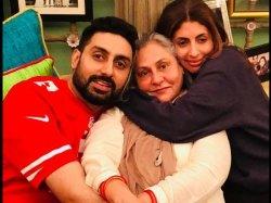 Shweta Bachchan Says Abhishek Bachchan Is Sacred Of Wife Aishwarya Rai Bachchan