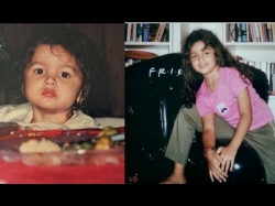 Happy Birthday Alia Bhatt Her Childhood Photos Prove She Was Meant To Be A Star
