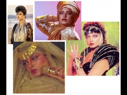 Rekha Weird Old Flashback Pictures From The 80s