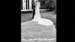Justin Beiber Stuns With Hailey Baldwin At Their Second Wedding Veil Reads Till Death Do Us Part