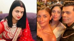 Rangoli Chandel Pokes Fun At Kareena Kapoor Karan Johar Discussion On Alia Ranbir Love Life