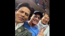 Shah Rukh Khan Epic Selfie Jackie Chan Jean Claude Van Damme Breaking The Internet