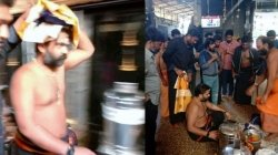 Simbu Begins His Holy Journey To Sabarimala Pictures Go Viral