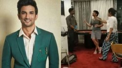 Viral Video Sushant S Sister Priyanka Questions Former Staff Member Over Suspicious Money Transfer