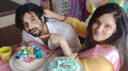 Kunal Verma Organises Baby Shower For Wife Puja Banerjee With A Cake That Said Push Puja Push