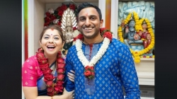Sonalee Kulkarni Ties The Knot With Fiance Kunal Benodekar In Temple In Dubai See Wedding Pictures