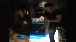 Krushna Abhishek And Arrti Singh Flaunt Killer Dance Moves As They Groove To Bappi Lahris Song