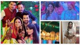 Mohena Singh Looks Royal At Her Mehendi & Sangeet