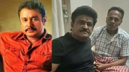 Darshan Provides Financial Assistance To Venkatesh