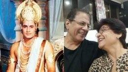 Arun Govil's Picture Of Watching Ramayan Goes Viral