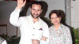 Saif Is Scared Of Mom Sharmila's Lockdown Attitude