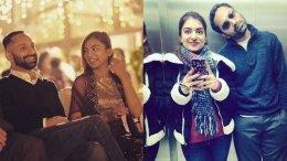 Nazriya Nazim Wishes Fahadh Faasil On His Birthday!