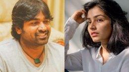 Vijay Sethupathi To Romance Karnan Actress Rajisha Vijayan