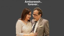 Sumalatha's Emotional Post On Ambareesh's Death Anniversary