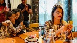 Kangana Showers Rangoli With Cakes & Hugs On Her Birthday