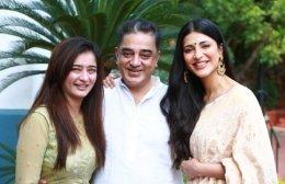 Shruti Haasan Gives Update On Father Kamal Haasan's Surgery