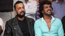 Sudeep Joins Upendra In R Chandru's Multilingual Period Film