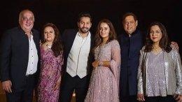 Varun Dhawan And Natasha Dalal Pose With Their Parents