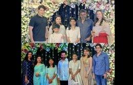 Celebs Attend Sukumar's Daughter Sukriti's Half Saree Event