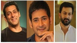 Salman, Mahesh And Prithviraj To Launch Teaser Of Major