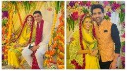 Inside Divya Drishti Fame Sana Sayyad's Haldi Ceremony