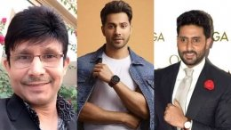 KRK Wants Abhishek Bachchan, Varun Dhawan Star In His Film