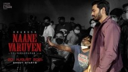 Naane Varuven To Start Rolling On August 20
