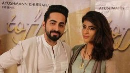 Ayushmann Opens Up About Working On A Song For Tahira's Film