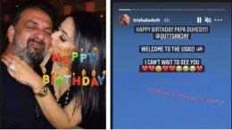 Trishala Dutt Wishes Father Sanjay Dutt On His Birthday