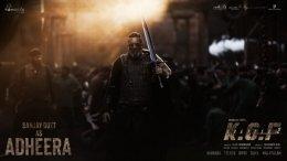 KGF 2 Team Unveils Brand New Poster Of Sanjay Dutt