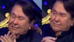 Randhir Kapoor Gets Emotional On The Sets Of Indian Idol 12