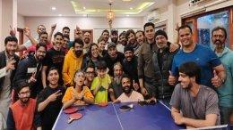 Aamir Khan Enjoys Table Tennis Tournament With LSC Team