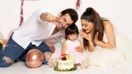 Mahhi And Jay Celebrate Daughter Tara's Second Birthday