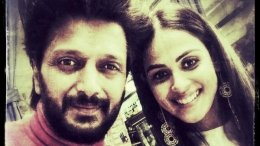 Riteish Pens Sweet Note For His 'Baiko' Genelia On Her B'day