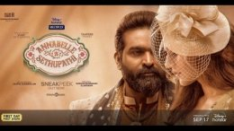 Annabelle Sethupathi Twitter Review