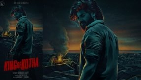 Dulquer Salmaan Reveals King Of Kotha First Look Poster