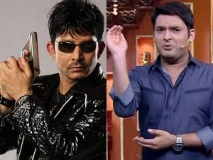 Kamaal R Khan Aka KRK To File Complaint Against Kapil Sharma; Twitter War Continues!