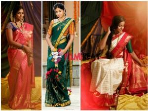 Photos: Singer Smitha Kick-Starts Aalayam Navaratri Handloom Festival