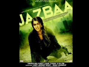 Check Out The Amazing First Poster Of Aishwarya Rai's Jazbaa