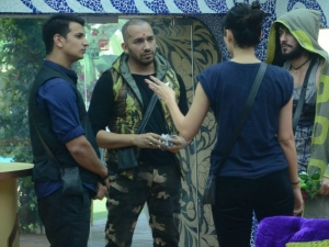 Bigg Boss 9: Ali Quli Mirza And Sana Khan Enter!