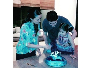 PICS: Mahesh Babu Makes Sitara's Birthday Special
