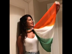 Priyanka Chopra Gets Trolled For Wearing A Tricolour Dupatta To Celebrate Independence Day!