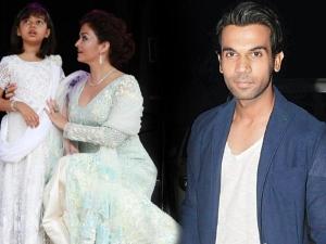 WOW! When Rajkummar Rao Met Aishwarya Rai Bachchan & Aaradhya, Something Unexpected Happened!