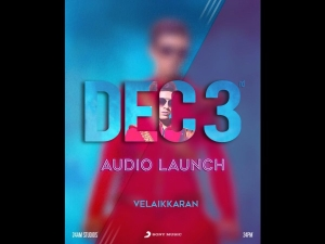 Velaikkaran Audio Launch on 3rd December 2017