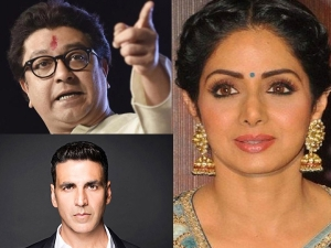 Raj Thackeray Says Shocking Things About Sridevi & Akshay Kumar