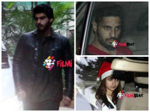 Pics: Ranbir Kapoor's Christmas Party For Bollywood Buddies
