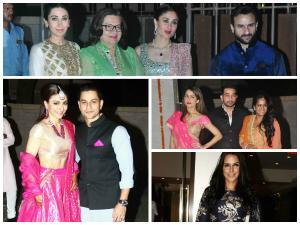 Soha-Kunal Khemu Wedding Party Pics: Bollywood Celebs Arrive