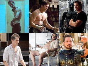 Christian Bale's Birthday: His Body Transformations