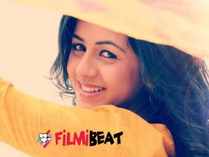 Nikki Galrani's Image Makeover For 'Rudrasimhasanam'