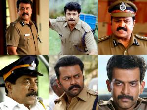 Malayalam Cinema's Best Police Roles